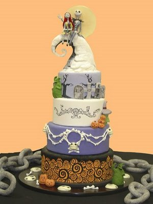 Spooktacular Wedding Cakes