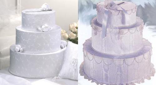 Wedding Cake Card Boxes