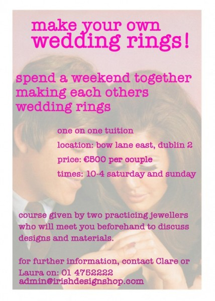 Labour of Love – make your own rings?!