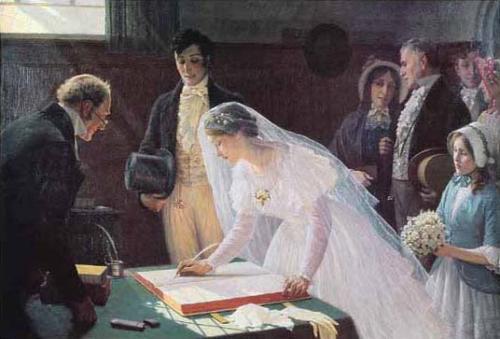 Registry Office Vs Church Wedding