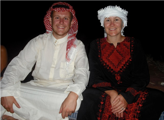 Bedouin wedding in the Jordan desert