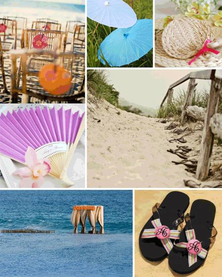 Beach-themed Wedding Favours
