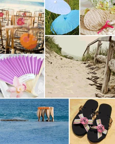 Beach-themed Wedding Favours
