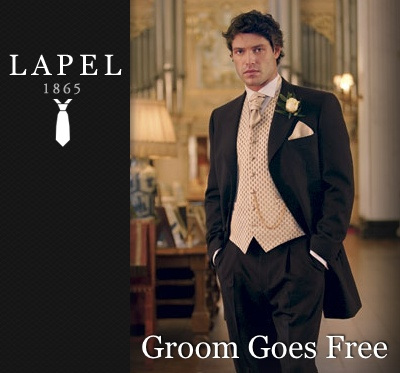 Groom Goes Free?! Win your Groomswear