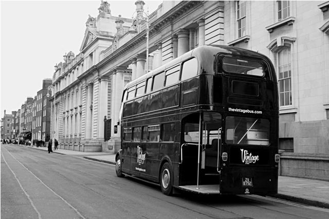 Chic 60's! Vintage Wedding Bus