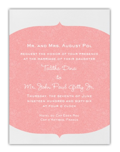 Wedding Invitations with a difference!