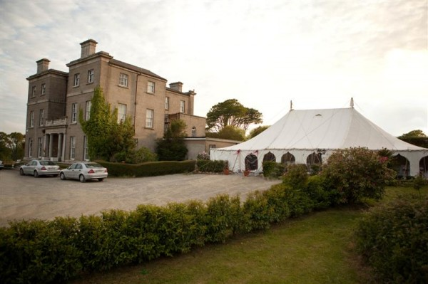 Horetown House Marquee Wedding Launch
