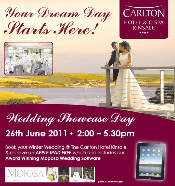 Getting hitched in Cork? Want an iPad??