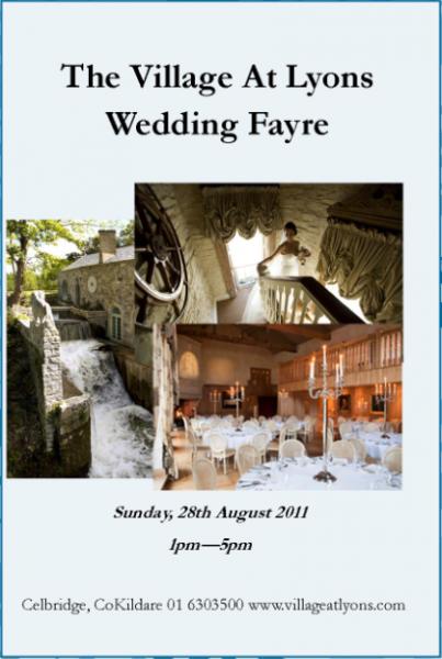Kildare Wedding Fair ~ Village at Lyons