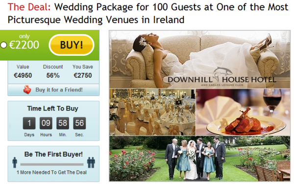 Deal of the Day! Wedding Deal
