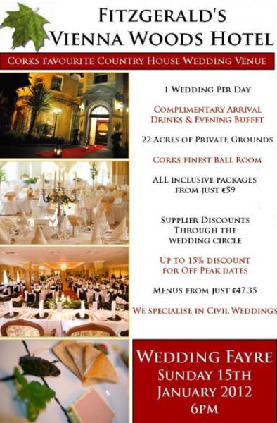 Wedding Fayre Cork: Vienna Woods Hotel