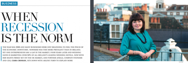 UK Magazine Feature: When Recession is the Norm, a profile of our CEO Ciara Crossan
