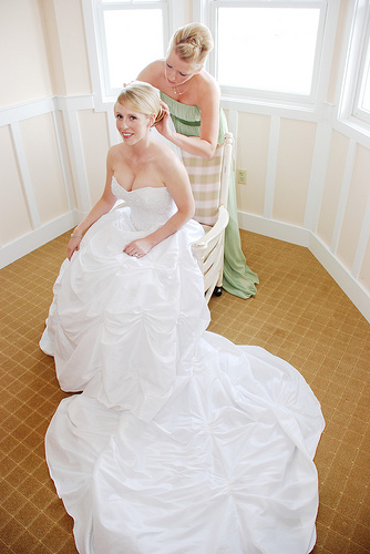 Top Ten Duties for the Maid of Honour