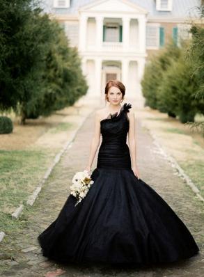 Defy Convention: Wear A Black Wedding Dress!