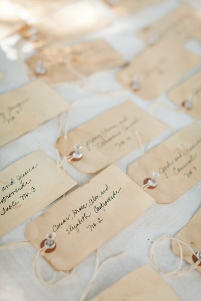 Escort Cards: Make Your Own