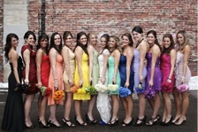 Rainbow Colours to Your Wedding