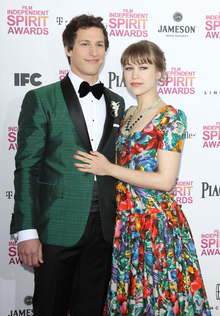 Celebrity Wedding: Andy Samberg and Joanna Newsom