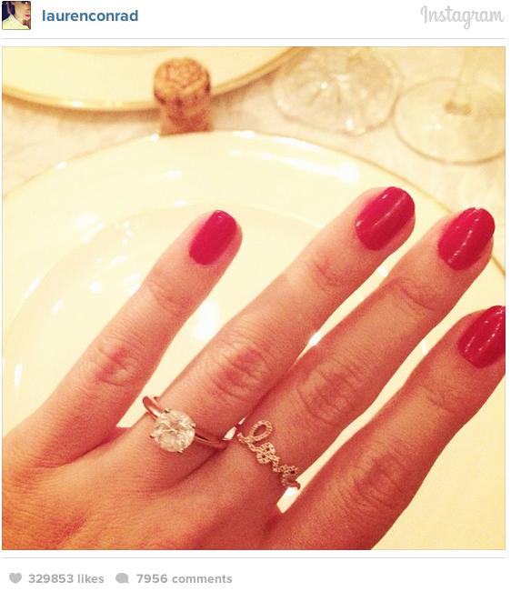Celebrity Engagement: Lauren Conrad