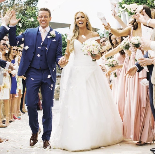 Rosanna Davidson's Trio of Weddings Ends in Powerscourt Hotel
