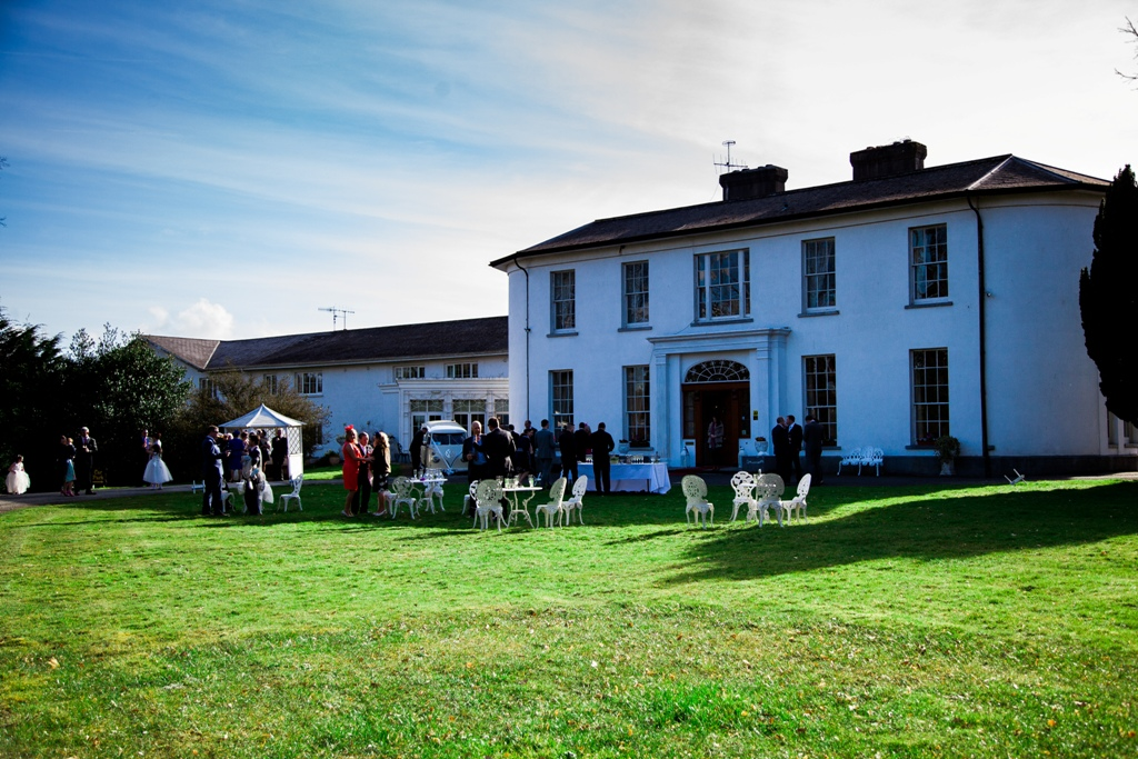 Real Wedding: Springfort Hall Hotel, Cork Wedding Venue