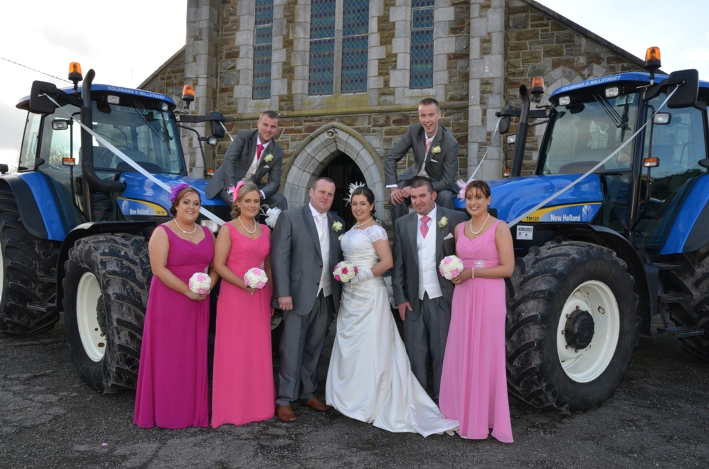Valentine's Day Real Wedding at the Dromhall Hotel, Kerry Wedding Venue