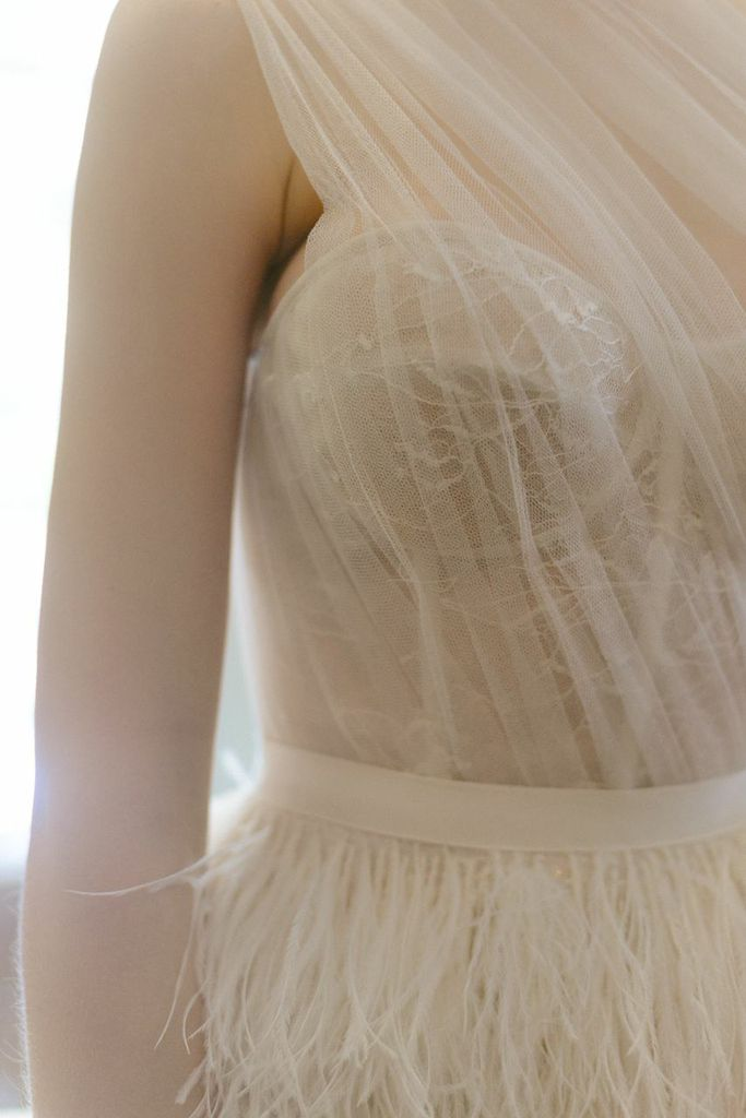 Bridal Fashion Week - Lela Rose Wedding Dress