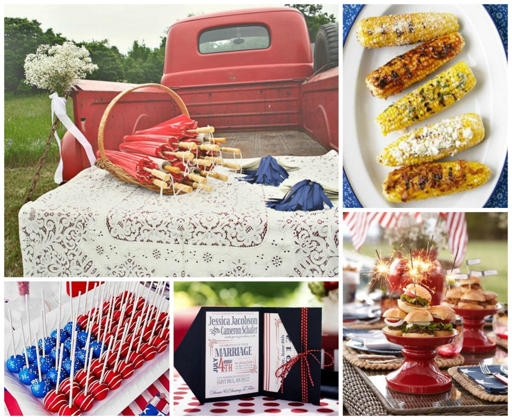 4th of July Wedding Picnic