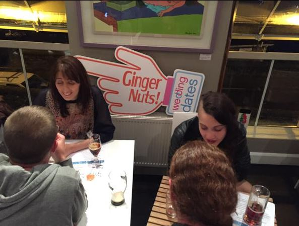 Ginger Speed Dating at the Irish Redhead Convention