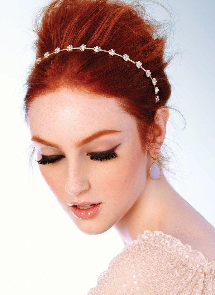 Skincare Advice For Redhead Brides