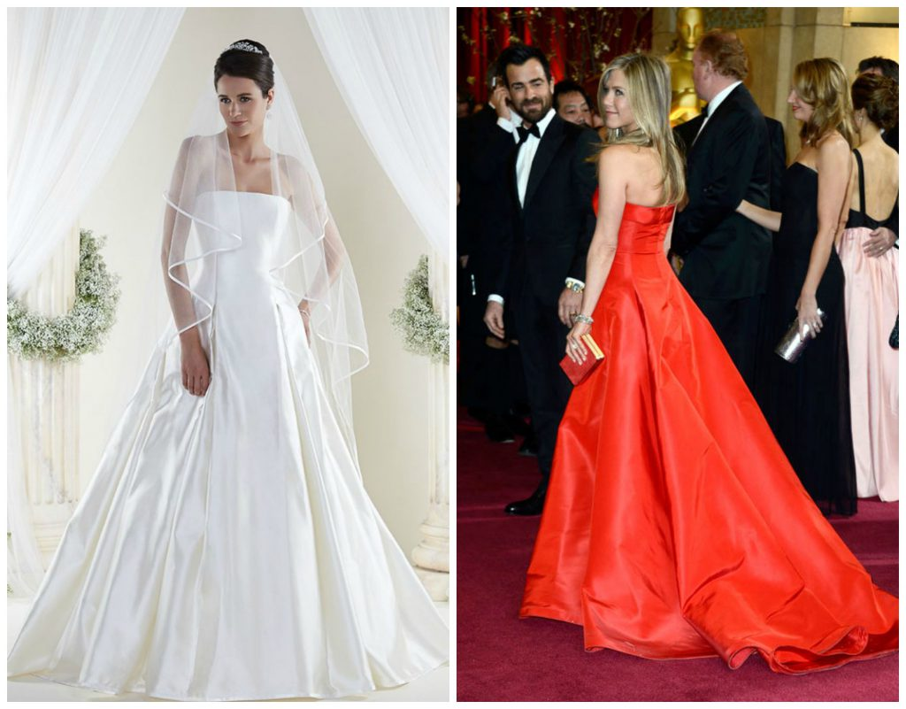 Jennifer Aniston Wedding Dress - Sassi Holford