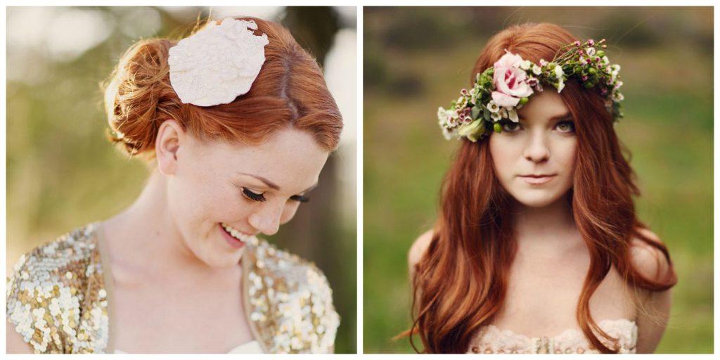 Gorgeous Redhead Brides