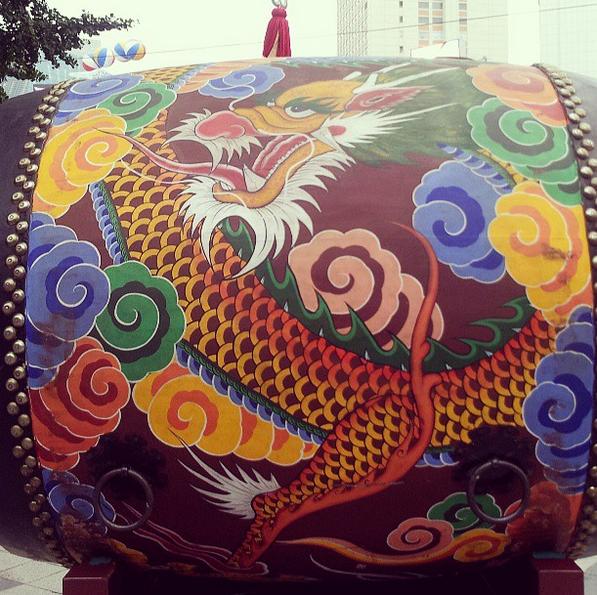 Traditional Korean Drum