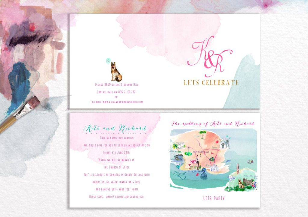 Till Dawn Dear Wedding Stationery