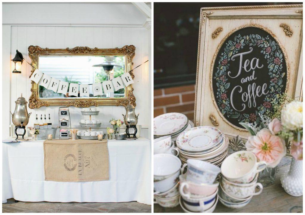 Coffee Wedding Theme