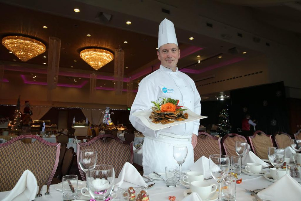 Stormont Hotel Head Chef Jay