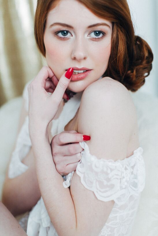 Bridal Boudoir Photo Shoot