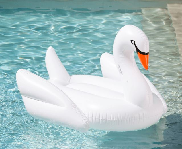 White Swan Pool Float - FUNBOY, $99.00