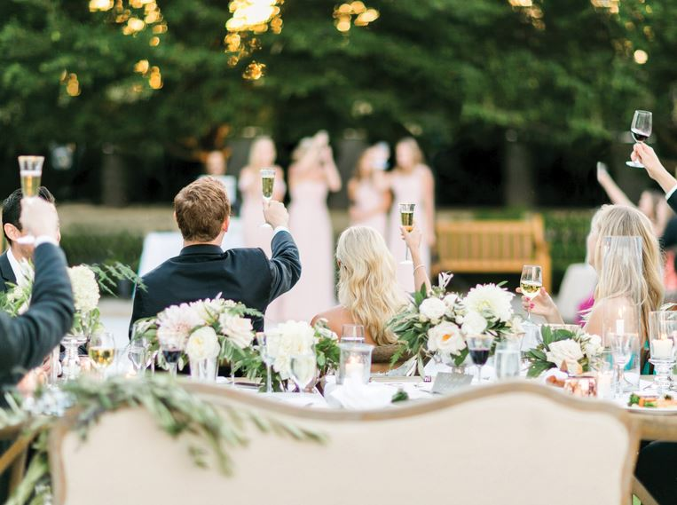 People to thank in your wedding speech