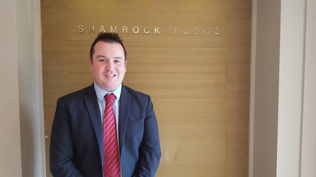 General Manager Alan McCaul, The Shamrock Lodge