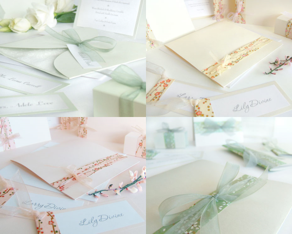 These absolutely stunning wedding invites are from the aptly named