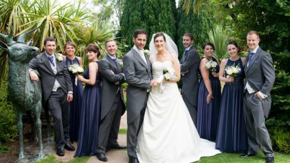 Alessandra and Daniel's Elegant Real Wedding at The Glenview Hotel