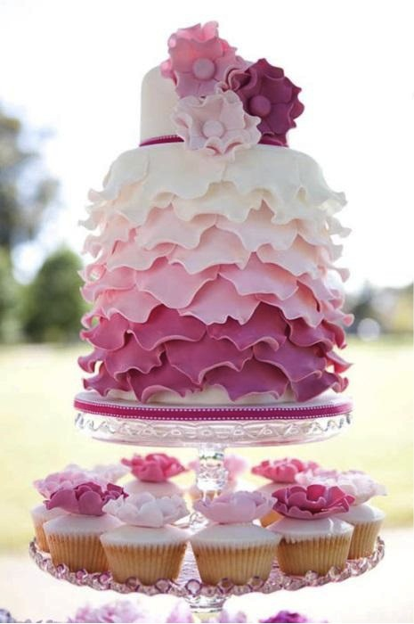 Cake Autumn colour trends 2013