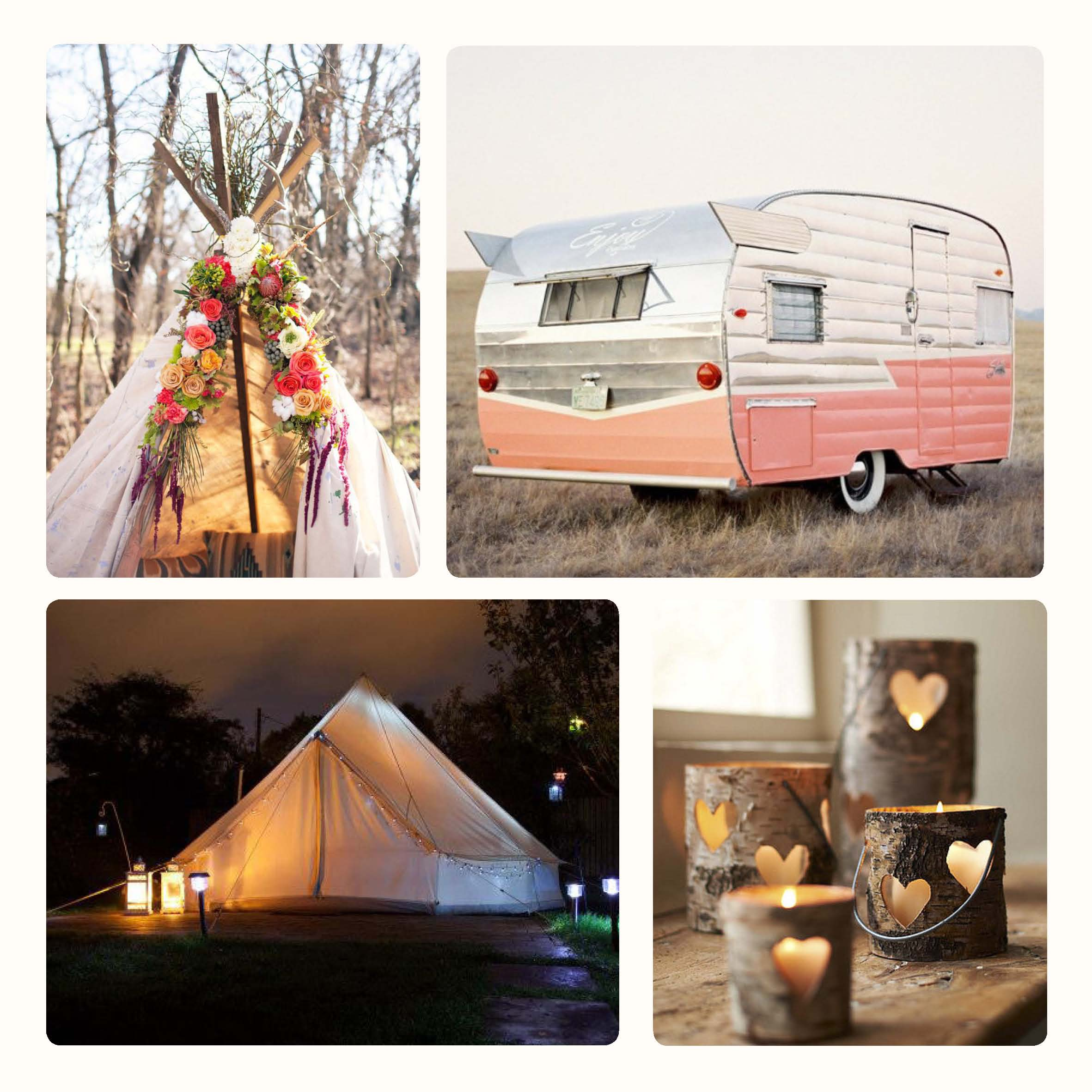 Colour Palette – Glamping
