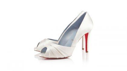 bridal shoes: Jimmy vs. Christian