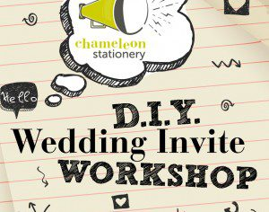 DIY Wedding Workshop