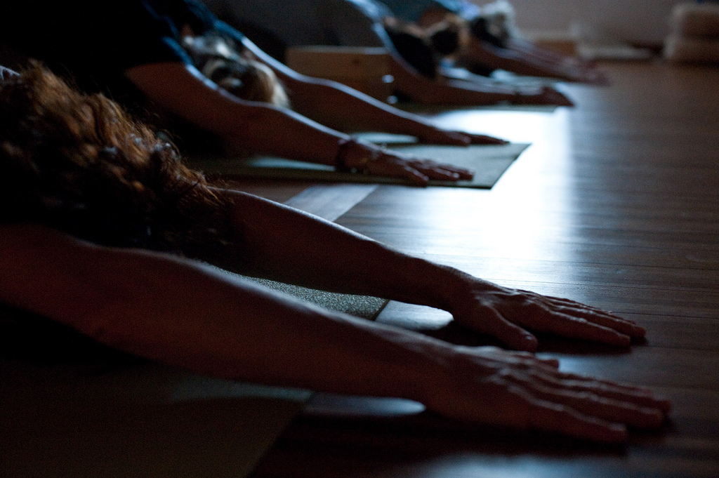 Chill your inner Bridezilla with Yoga