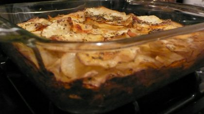 Newlywed Recipe Baked French Potatoes