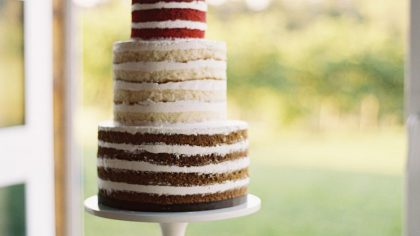 Wedding Trend: Bare Naked Cakes