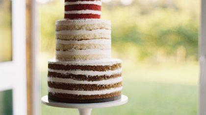 Wedding Trend: Bare Naked Cakes