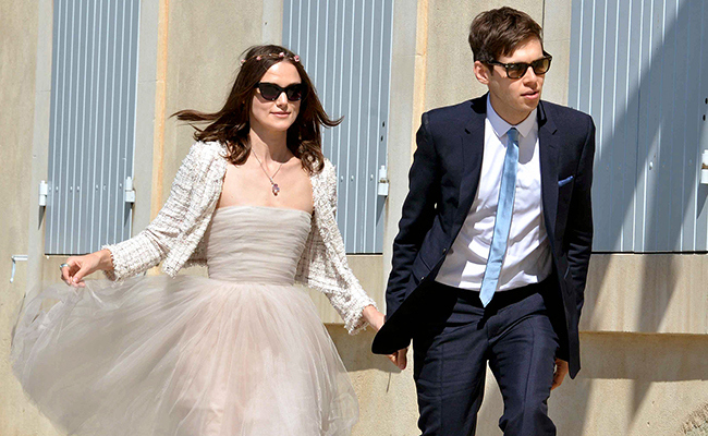Keira Knightley Had a Second Wedding!
